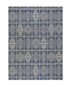 Tapete Kilim Freedom Etnico 10 Indigo/Off White