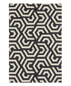 Tapete Kilim Dahlia 2 Off White/Black