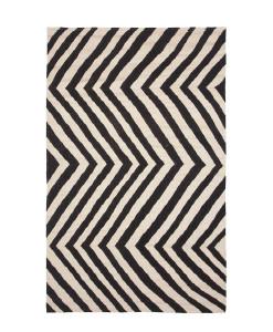 Tapete Kilim Zebra Black
