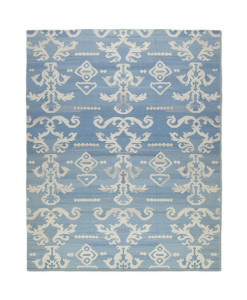 Tapete Kilim Ikat Lashmi Light Blue
