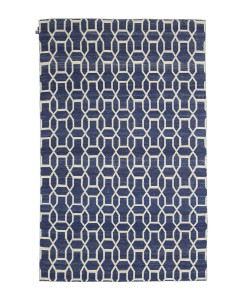 Tapete Kilim Freedom Moroccan Dark Blue/Off White