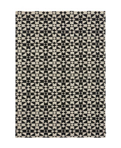 Tapete Kilim Moroccan 5 White/Black