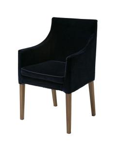 Cadeira de Jantar C/ Braço Flexform Veludo
