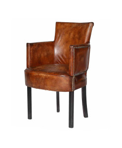 Poltrona Newark Dining Chair Cigar