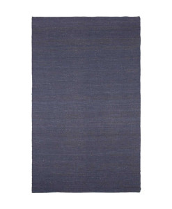 Tapete Kilim Juta Plain Dark Blue