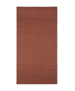 Tapete Kilim Juta Plain Red