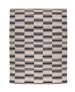 Tapete Kilim Shasavan White Black