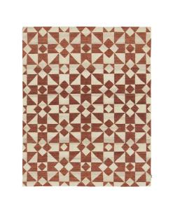Tapete Kilim Moroccan 5 White/Red