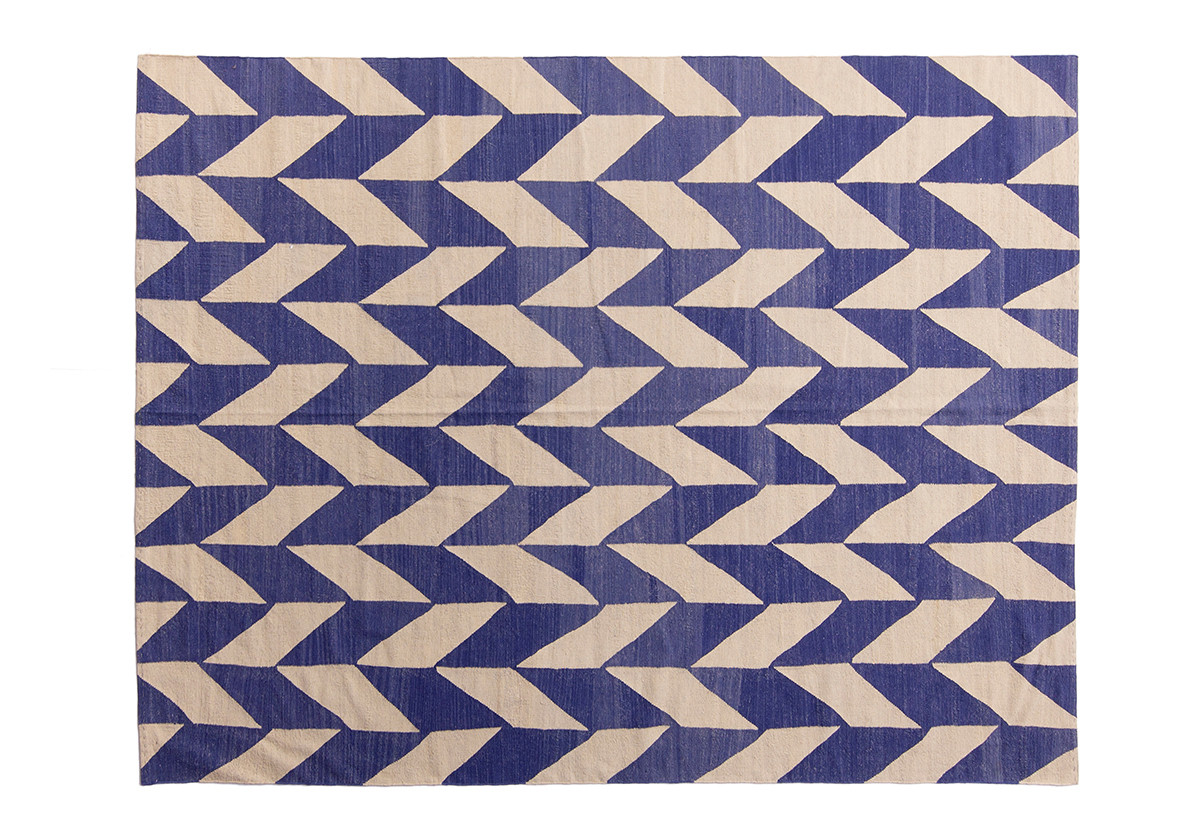 KILIM GRAN DAKOTA BLUE