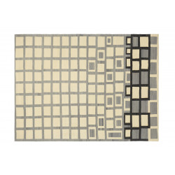 KILIM AFRICANO 2 OFF WHITE LIGHT GREY
