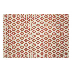 KILIM CALEIDOSCOPIO OFF WHITE/RUST