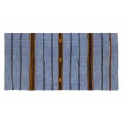 KILIM FOLKE 5 BLUE/ORANGE