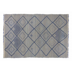 KILIM RIAD 8 OFF WHITE BLUE