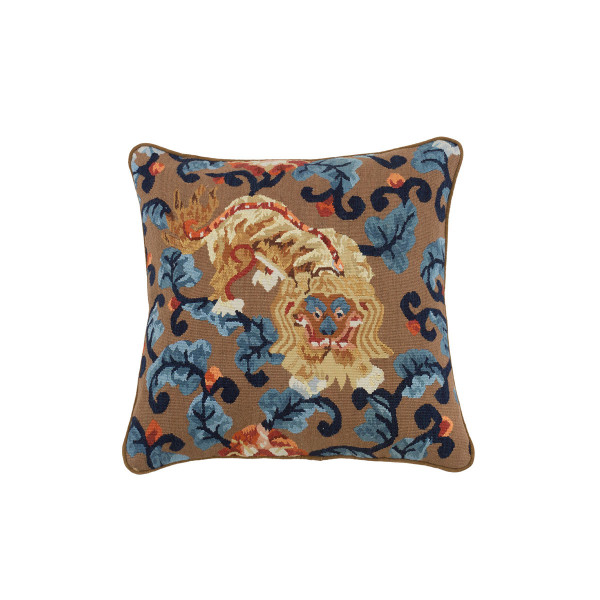 ALMOFADA AUBUSSON DRAGON GOLD E