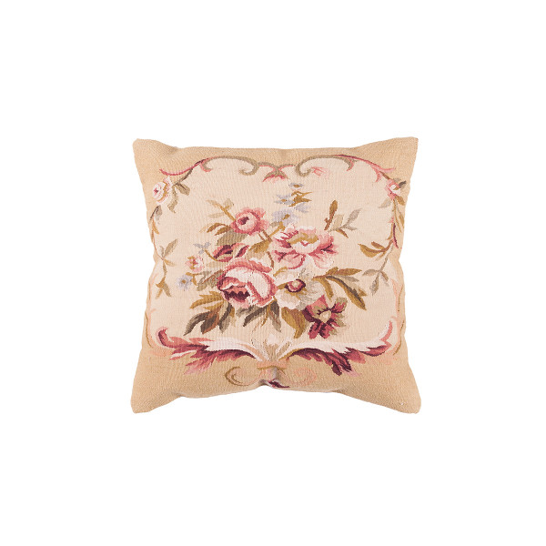 ALMOFADA AUBUSSON PD031C FLORAL 30 X 30