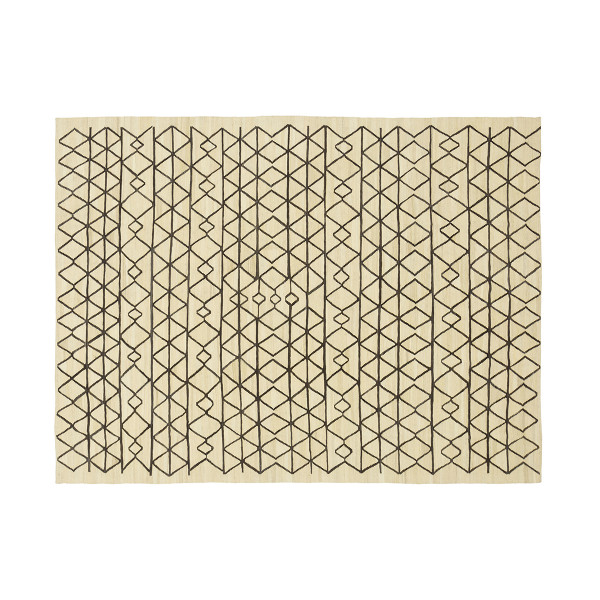 KILIM AFRICANO 3 OFF WHITE CHOCOLATE