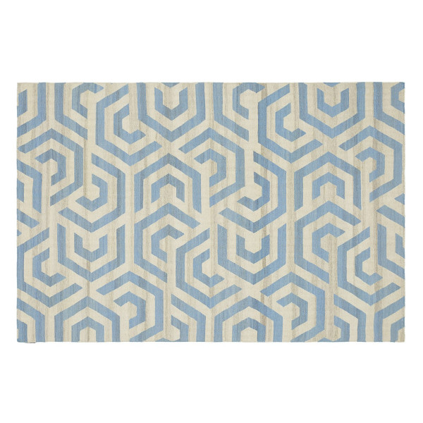 KILIM DAHLIA 1 OFF WHITE/LIGHT BLUE