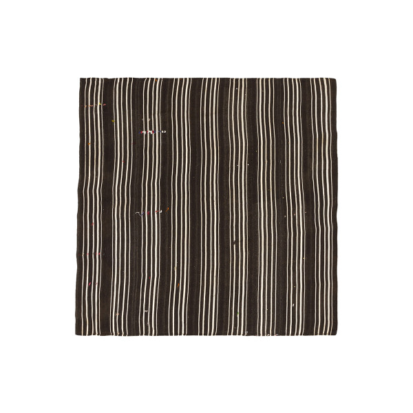 KILIM FOLKE 1 BROWN/OFF WHITE