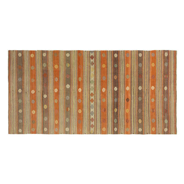 KILIM FOLKE 15 MIX ORANGE