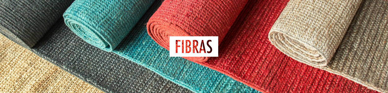 Categoria Tapetes Fibras Banner
